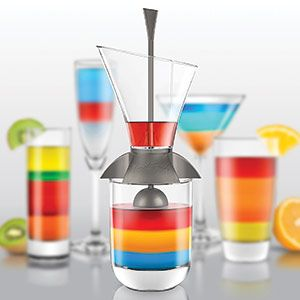 RAINBOW COCKTAIL LAYERING TOOL $19.98