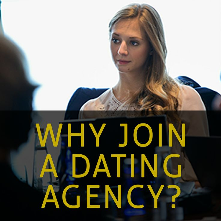 Should I Join A Dating Agency