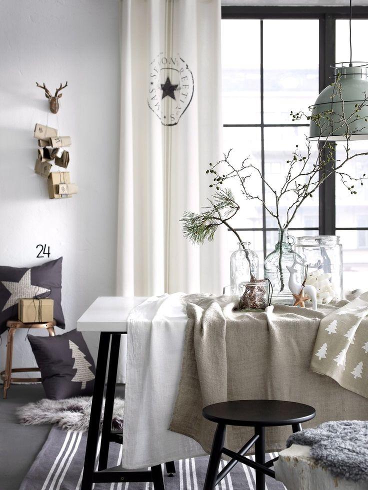 25+ parasta ideaa Skandinaavinen Joulu Pinterestissä