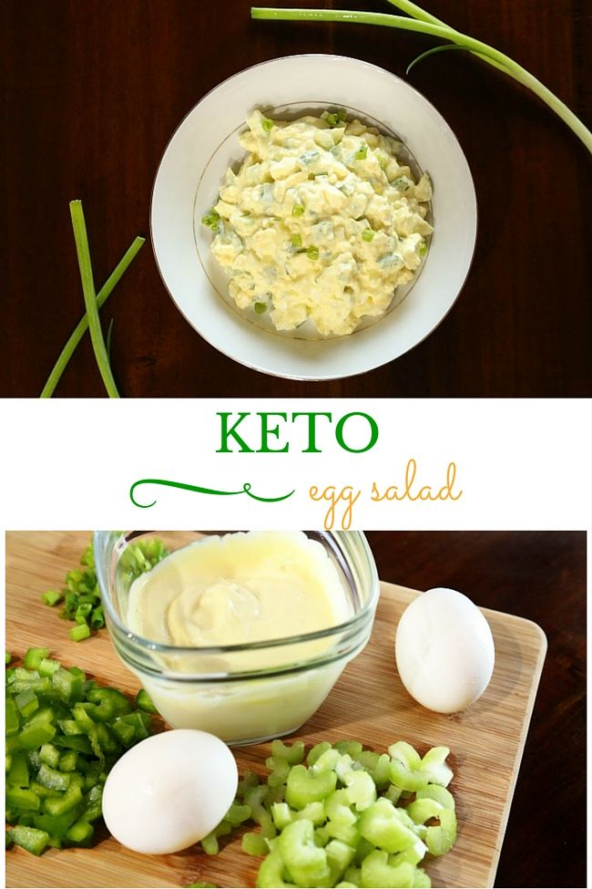 Easy Keto Egg Salad Recipe two ways. Make it with 3 net carbs or 0 carbs!