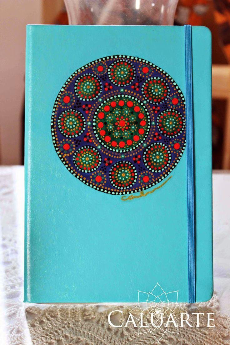Cuaderno pintado a mano Caluarte.