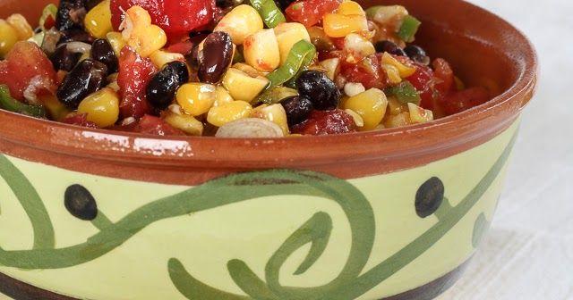 Huis, tuin en keukenvertier: Salsa van mais en zwarte bonen, lekker voor bij de bbq