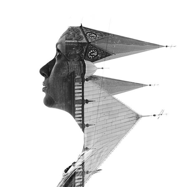 Aneta Ivanova's Double Exposure Photography