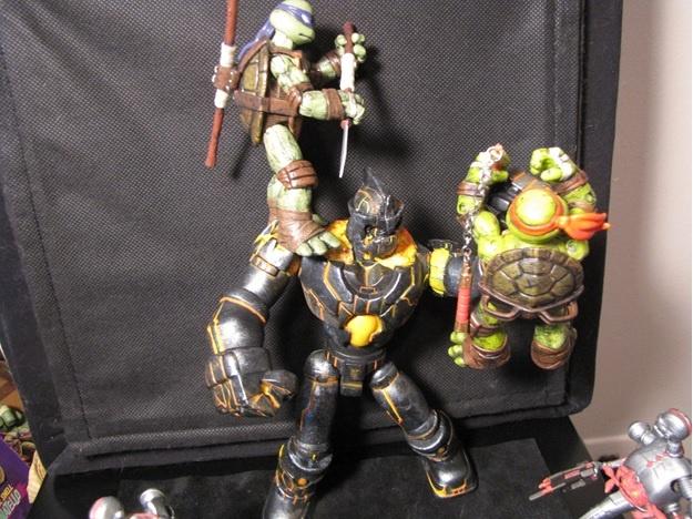 TMNT Michelangelo & Donatello vs Kraang   Custom TMNT ...