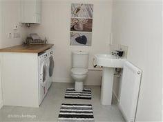 Extra bathroom / laundry layout