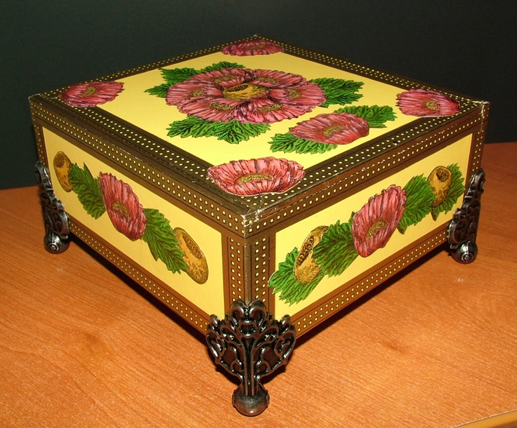 19 best vintage cigar and other boxes images on pinterest for Cigar boxes for crafts