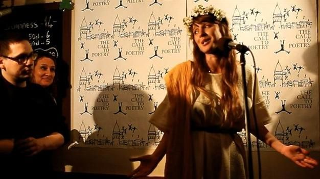 """""""The Call to Poetry,"""" a critically acclaimed international literary event, will stage a dramatic one-night celebration of the world's oldest love poem on June 3 at Ankara's Ruhi Bey Rock Bar with poetry read in Turkish and English."""