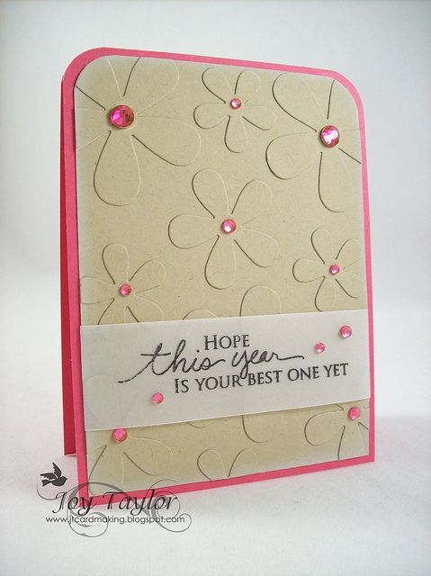 card by Joy Taylor.