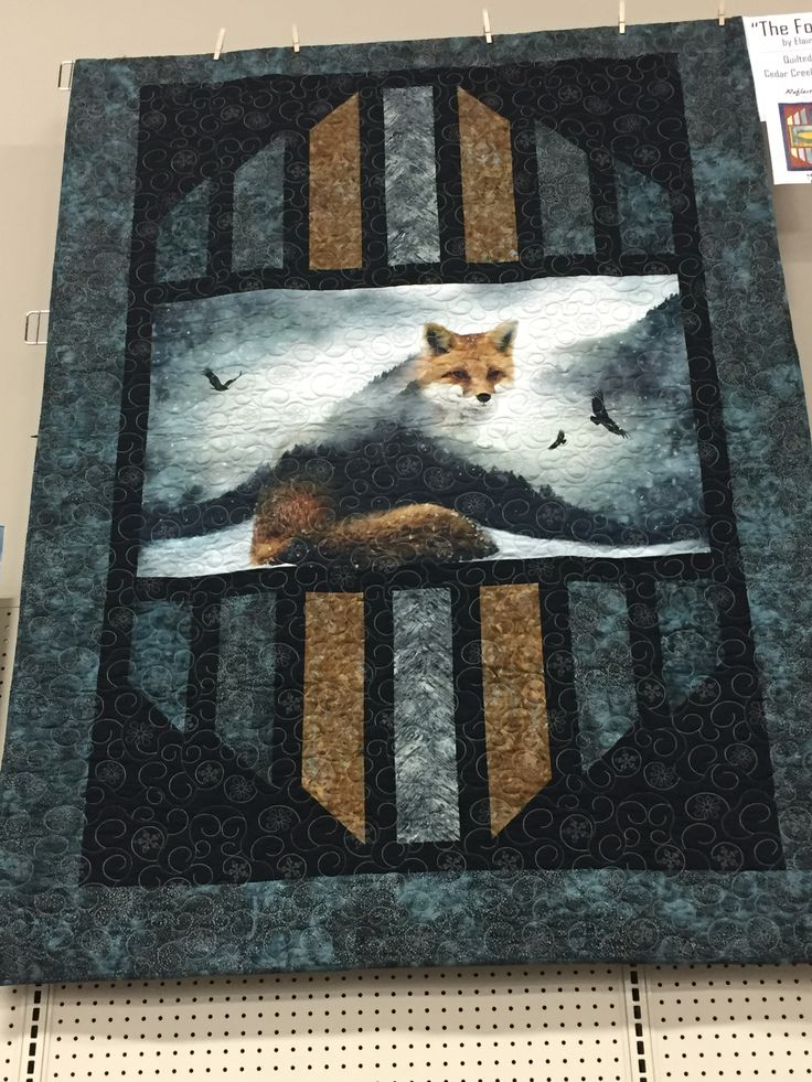 212 Best Panel Quilts Images On Pinterest Quilting Ideas