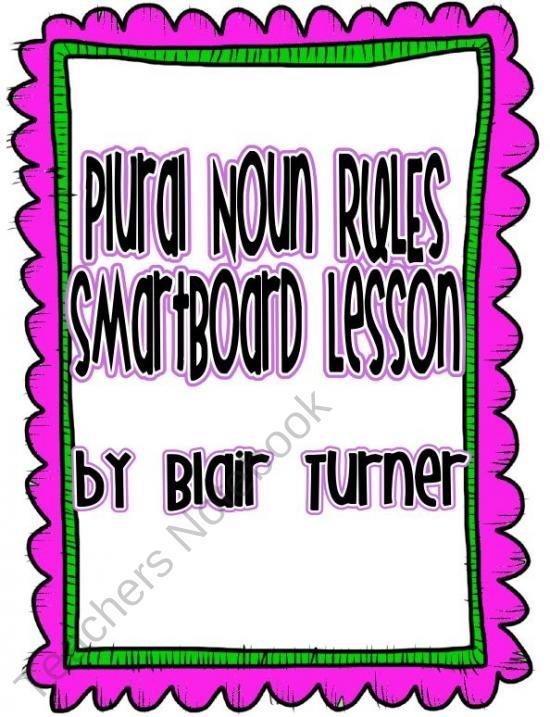 how to teach plural nouns