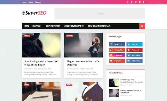 Super Seo Optimized Blogger Template Premium Version Free Download Free Blogger Templates Blogger Templates Blogger Design Template