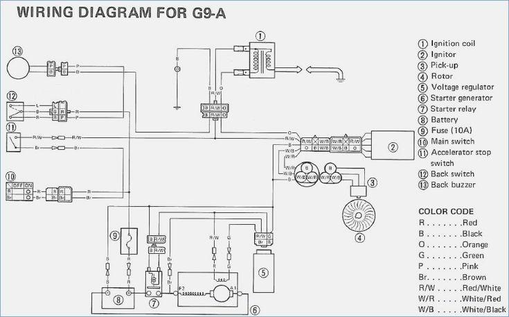 Yamaha G9a Wiring Diagram