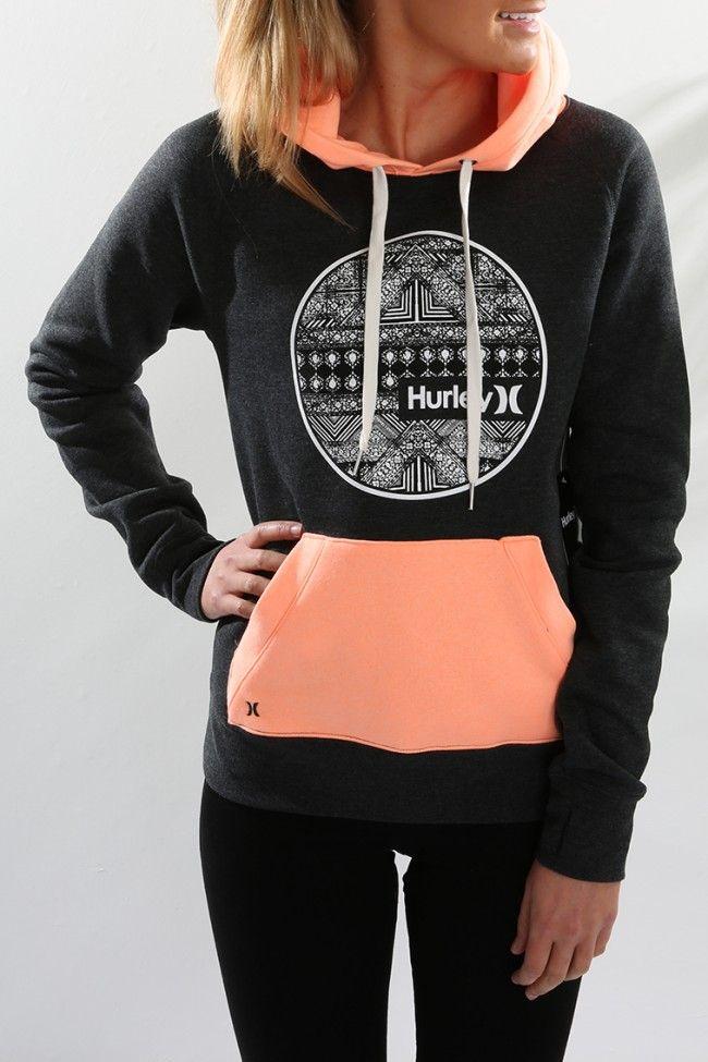Hurley - Eclipse Fleece Dark Heather Grey