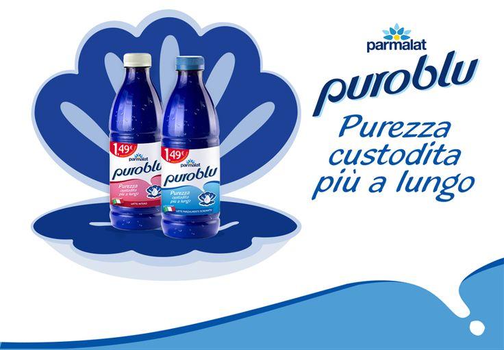 Parmalat Puro Blu. Purezza custodita più a lungo #theinsiders #puroblu