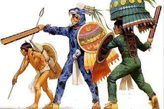 The Aztec military consisted of warriors of different ranks, ranging from the boys who would carry equipment, the the elite Jaguar and Eagle warriors. Different warrior ranks dressed,  fought, and strategized differently. In order for one to work his way up the ranks, he must prove the he truly is elite in battle.