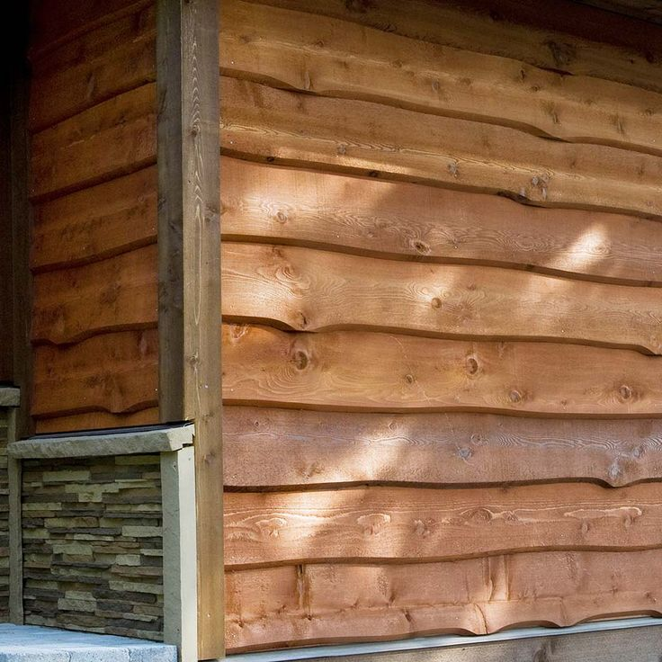 Haida Skirl Wavy Cedar Siding Ideas For The House In
