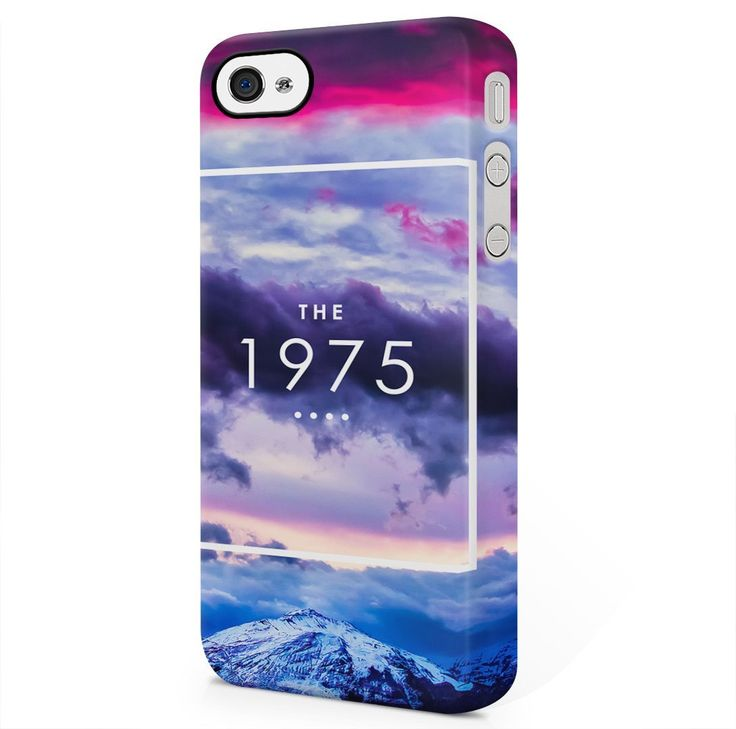 Amazon.com: The 1975 Colorful Clouds Sky Mountains Tumblr iPhone 4, iPhone 4S Hard Plastic Phone Case Cover: Cell Phones & Accessories