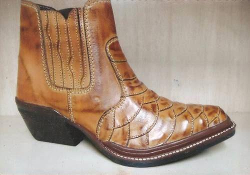 Bota Texana Country Couro Masculina - Marca Beluco Ref.094/6
