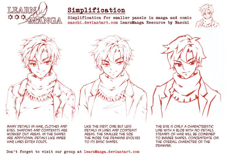 Learn manga simplification by on