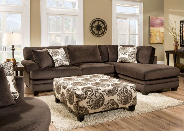 Bernie 2 PIece Sectional from Huffman Koos Furniture
