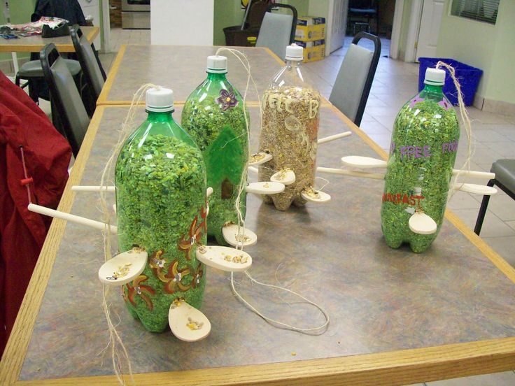 Pop Bottle Crafts | North Shore Community Support Services Inc./Club 90