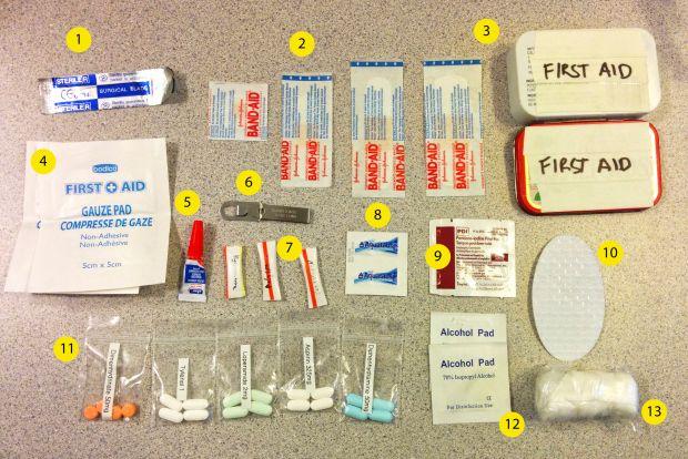 Ultralight First Aid Kit in an Altoids Tin | MAKE: Craft