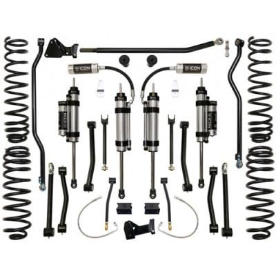 Image of 2011 JEEP WRANGLER (JK) Icon Suspension 4.5 Inch Stage 5 Lift Kit with 2.5 Omega Series Bypass Shocks