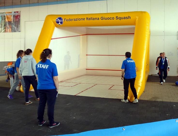 C'è anche lo squash ai Giochi del Veneto di Caorle 2013