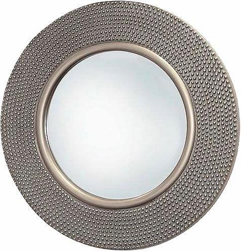 Home affaire Spiegel »Hammered Antique Silver«, Ø 80 cm