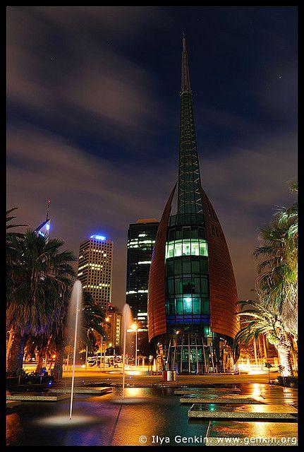 The Swan Bell Tower, Perth, WA, Australia by Ilya Genkin / genkin.org, via Flickr