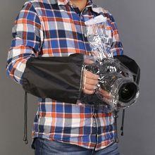 Profesional de La Cámara A Prueba de agua A Prueba de Lluvia de Polvo Protector de La Cubierta A Prueba de Lluvia para La Cámara Nikon Canon DSLR Cámaras Envío gratis(China (Mainland))