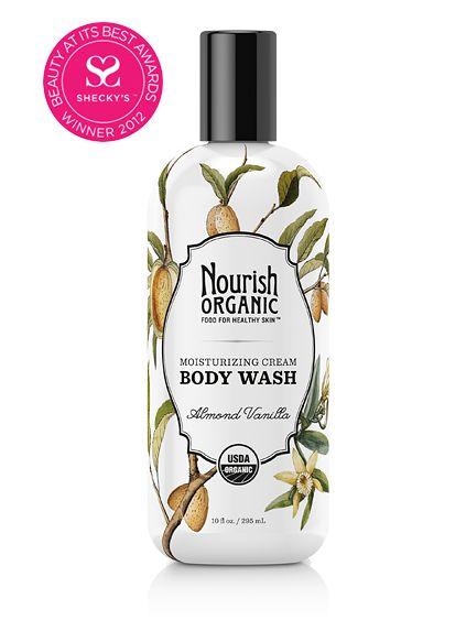 Moisturizing Cream Organic Body Wash (Almond Vanilla)