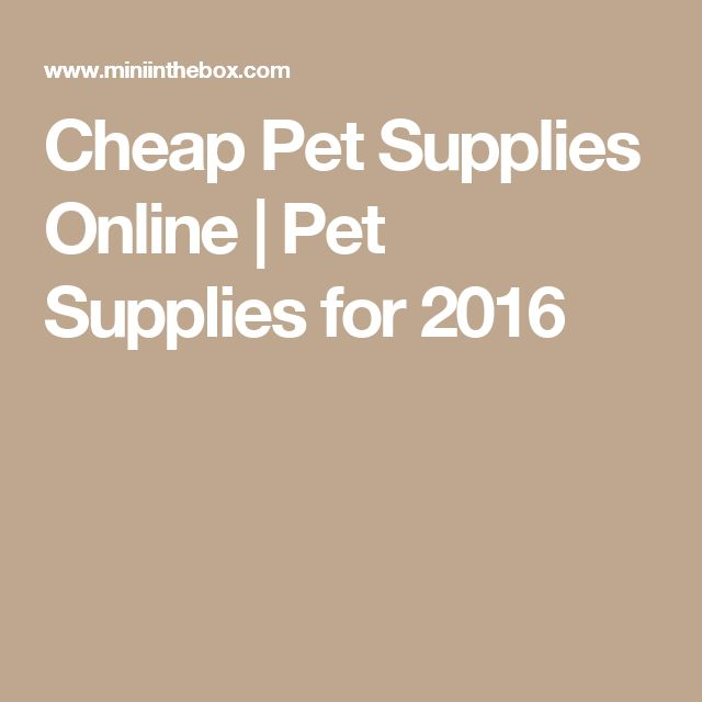 Cheap  Pet Supplies Online | Pet Supplies for 2016