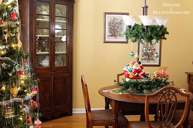 Vintage Dining Room Decorating Ideas: 1000+ Ideas About Christmas Dining Rooms On Pinterest