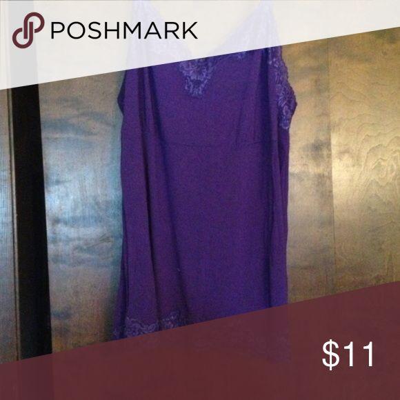Lane Bryant Purple Lace Cami Lane Bryant Purple Cami- Brand New Size 18/20 Lane Bryant Tops Camisoles