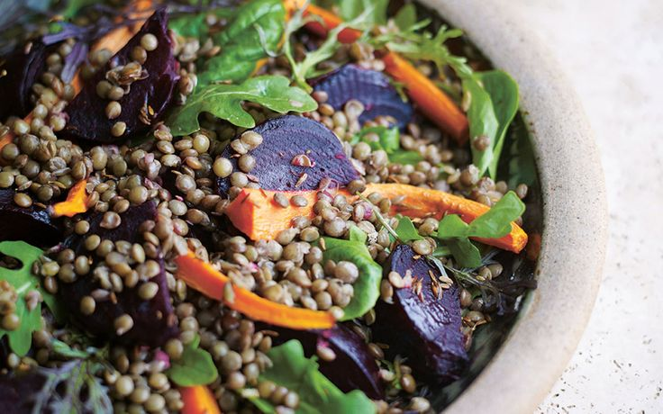 Roast beetroot and lentil salad | House and Leisure
