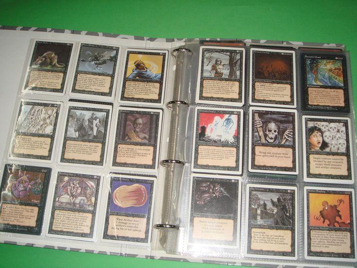 Coleccionismo  Libro -lote de cartas MAGIC-139 unidades DIFICILES DE ENCONTRAR