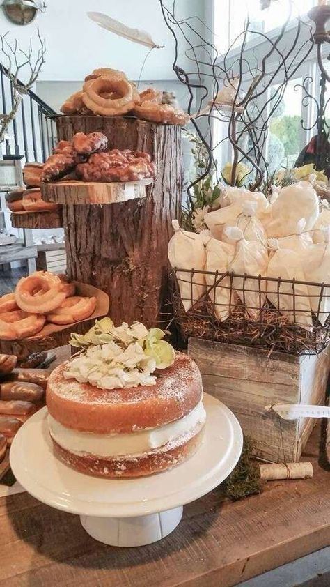 Rustic Vintage Woodland Baby Shower Baby Shower Party Ideas | Photo 3 of 17