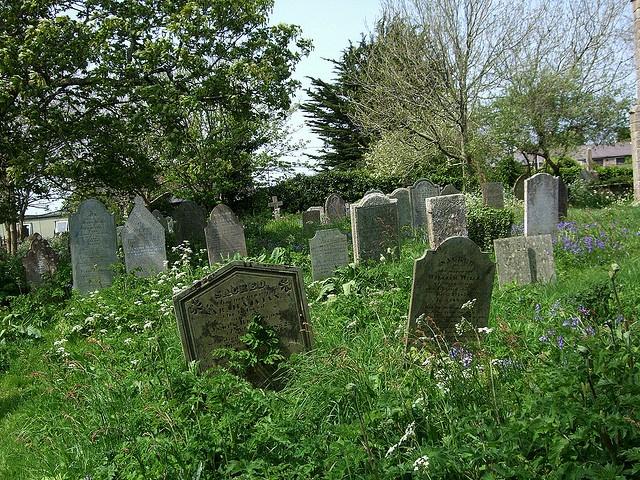 Illogan Cemetery, Cornwall