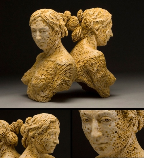 If I could own an Adrian Arleo sculpture...I would.  I get this art.  I just get it.