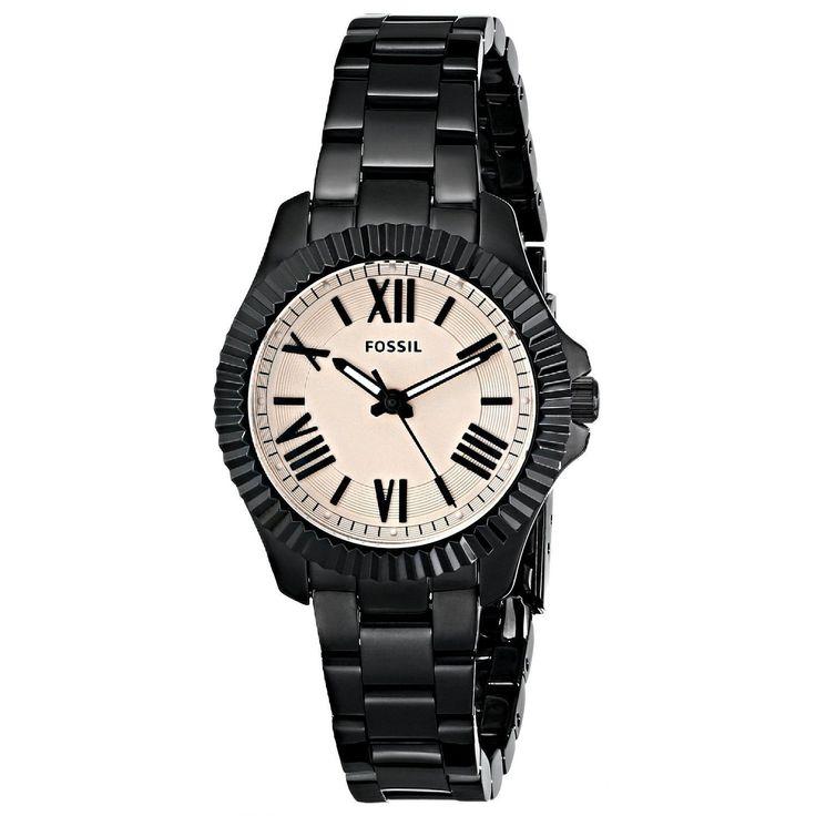 Fossil Women's Cecile AM4614 Black Quartz Watch