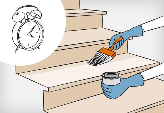 8 besten treppe renovieren bilder auf pinterest dachbau holztreppe renovieren und schritt f r. Black Bedroom Furniture Sets. Home Design Ideas