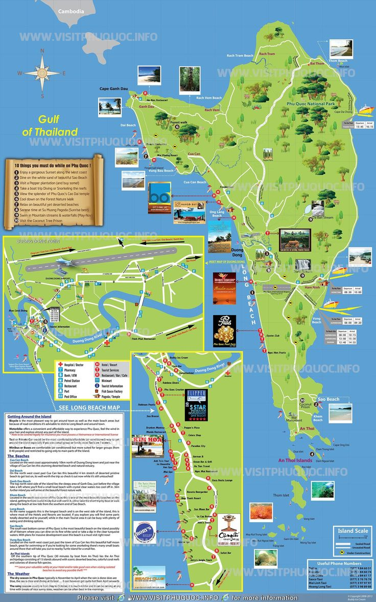 Phu Quoc Island Vietnam  city photos gallery : Phu Quoc Island Map: Trips 2014, Vietnam Cambodia Laos 2016, Quoc Map ...