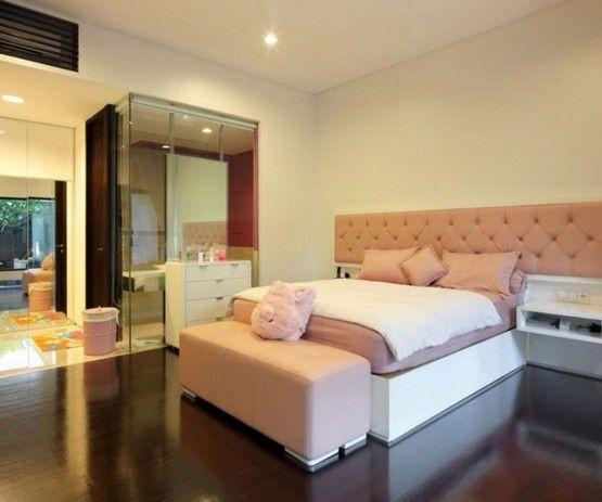 ridiculous floorBathroom Design, House Design, Interiors Design, Static House, Design Bedrooms, Pink Bedrooms, Modern House, Minimalist Style, Modern Bedrooms