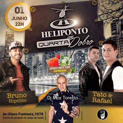 Pra quem curte dançar o Heliponto de quarta é uma ótima opção. Pra saber mais, acesse o Site: www.baladassp.com.br/ Infos no Whats: 951674133