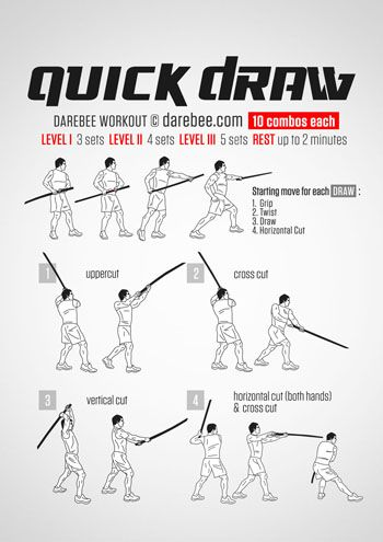 Quick Draw Workout
