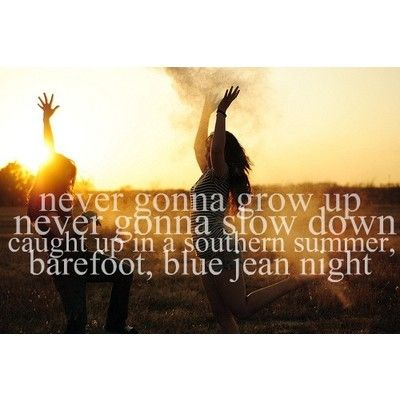 Caught Up In A Southern Summer, Barefoot, Blue Jean Night (: Jake Owen !  Country Songs ...