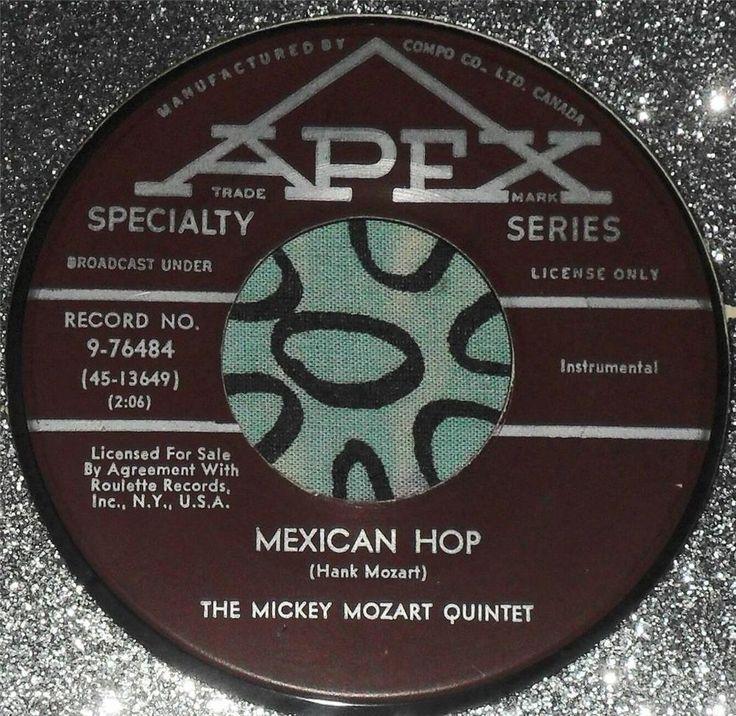 THE MICKEY MOZART QUINTET.....MEXICAN HOP & LITTLE DIPPER...RARE...CAN...HEAR #POPVOCALSPopJAZZTRUMPETSWORLDMUSIC