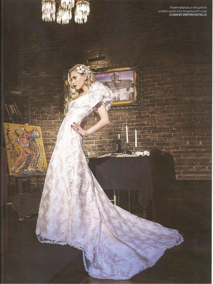 Bridal White , spring summer issue .