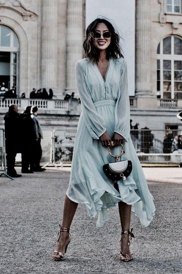 094552ac483 Весенние платья 2019-2020 года  лучшие платья на весну